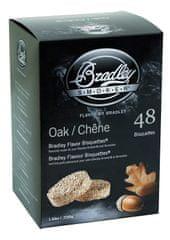 Bradley Smoker Brikety na údenie Dub 48 ks