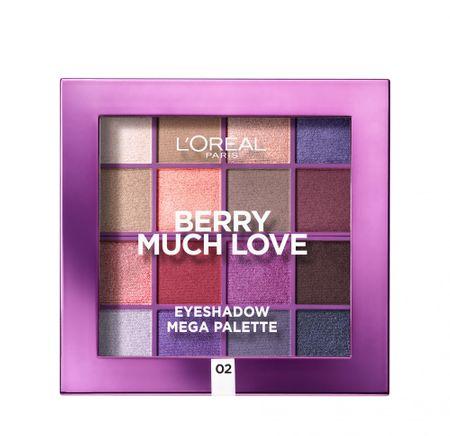 Loreal Paris paleta senčil za oči Berry Much Love