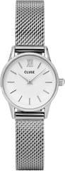 Cluse La Vedette Mesh Silver/White CL50005