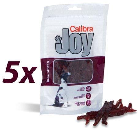 Calibra Joy prigrizki za pse, račji trakci, 5 x 80 g