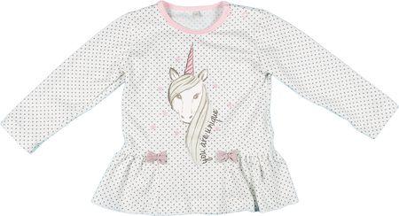 MMDadak kislány póló Unicorn 116 fehér