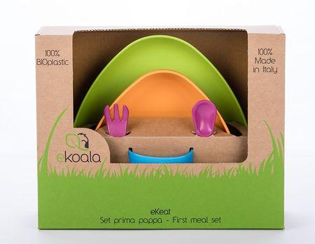 eKoala eKeat BIO plast jídelní sada uni
