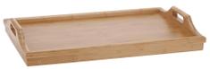 Koopman Reggeliző tálca ágyba, bambusz 50x30 cm