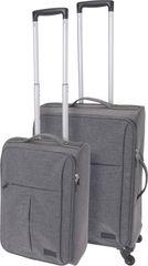 Koopman 2 darabos utazó koffer szett, világos szürke