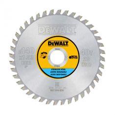 DeWalt list za krožno žago,140/20, 40 zob, za aluminij in kovino (DT1918)