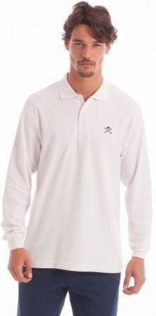 Polo Club C.H.A moška polo majica, S, bela