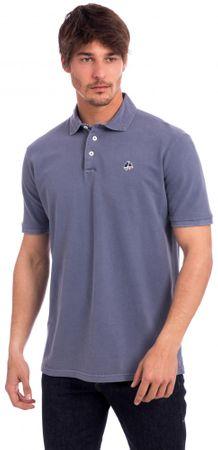 Polo Club C.H.A férfi galléros póló L kék