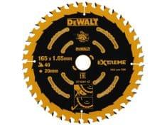 DeWalt rezilo za prenosno potezno žago, 165/20, 40 zob, EXT (DT10301)