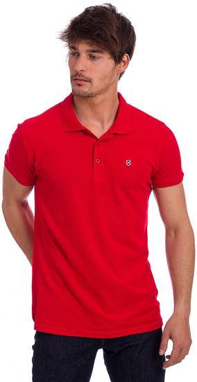 Polo Club C.H.A pánská polokošile M červená