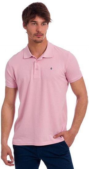 Polo Club C.H.A pánská polokošile L růžová