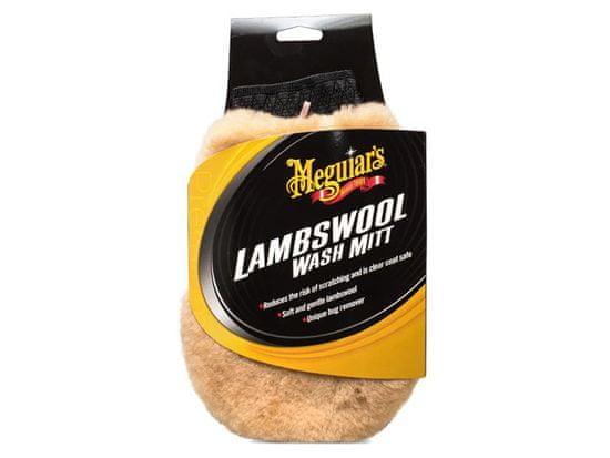 Meguiar's Lambswool Wash Mitt - mycí rukavice z pravé jehněčí vlny