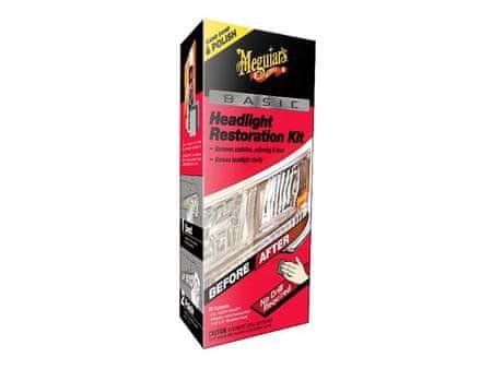 Meguiar's Basic Headlight Restoration Kit - základní sada na oživení světlometů