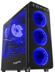 Genesis Gaming ohišje Irid 300, Midi Tower, 3.0, modro