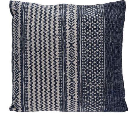 Marex Trade dekoracyjna poduszka, 56x56 cm, niebieska