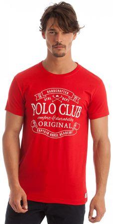 Polo Club C.H.A férfi póló L piros