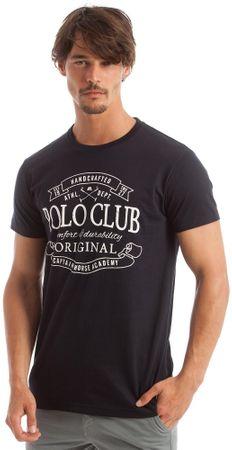 Polo Club C.H.A férfi póló M sötétkék