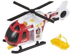 Wiky Tűzoltó helikopter hanggal és fénnyel