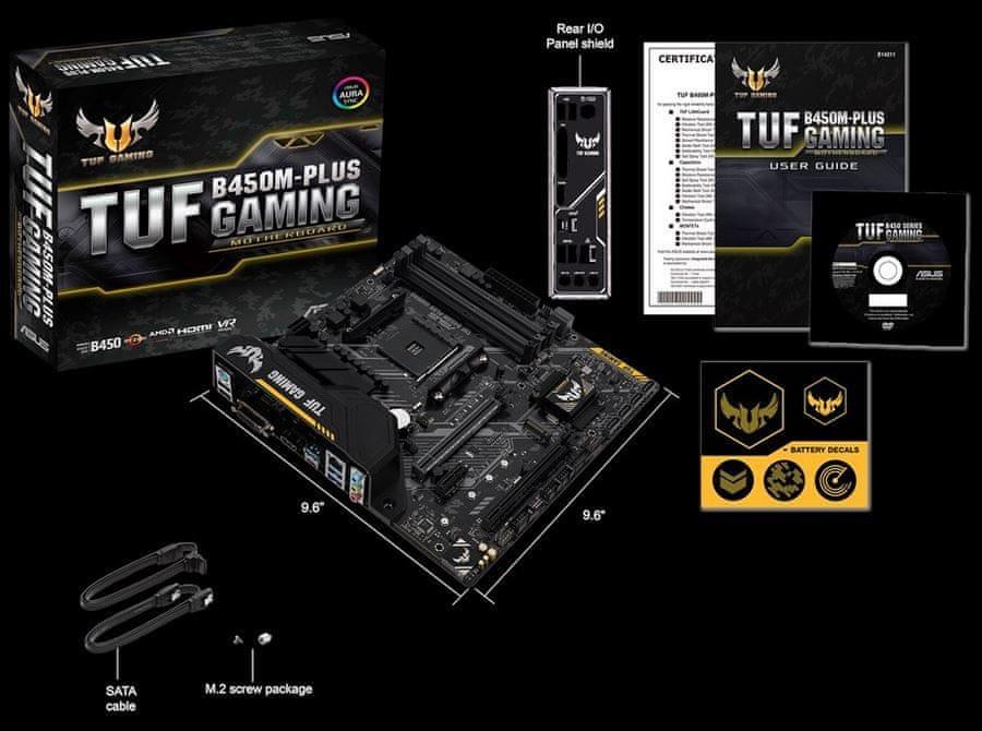 Osnovna plošča TUF B450M-Plus Gaming
