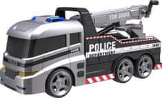 Teamsterz policyjny samochód holujący z dźwiękiem i światłem