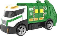 Teamsterz vozilo za pobiranje odpadkov z zvočnimi in svetlobnimi efekti, 40 cm