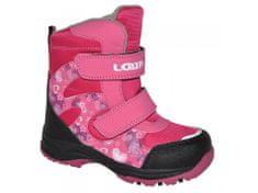 Loap Dívčí zimní boty Chosee růžová