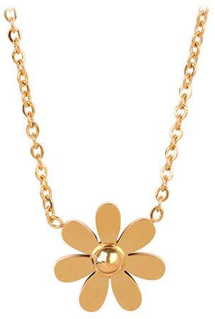 Troli Aranyozott virág nyaklánc