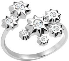 Preciosa Hvězdičkový stříbrný prsten Orion 5247 00 stříbro 925/1000
