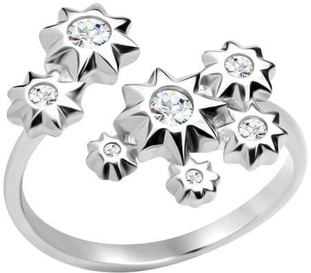 Preciosa Zvezdasti srebrni prstan Orion 5247 00 srebro 925/1000
