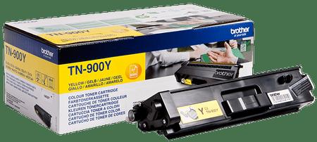 BROTHER toner TN-900Y, żółty (TN900Y)