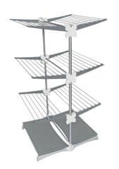 Meliconi Vertikální sušák na prádlo STENDIMEGLIO JUNIOR 33 m, šedý - rozbaleno