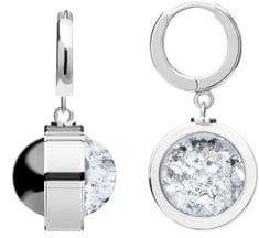 Preciosa Egyedi ezüst fülbevaló Singularis Kombi 6117 70 ezüst 925/1000