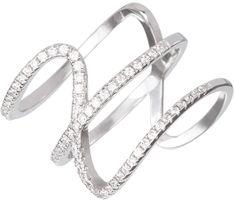 Preciosa Srebrni prstan s kristali Fortune 5198 00 srebro 925/1000
