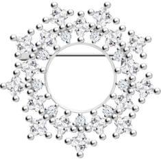 Preciosa Izvirna srebrna broška Orion 5259 00 srebro 925/1000
