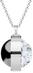 Preciosa Unikátní stříbrný náhrdelník Singularis Kombi 6116 70 (řetízek, přívěsek) stříbro 925/1000