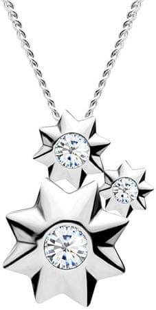 Preciosa Zvezdasta srebrna ogrlica Orion 5245 00 (veriga, obesek) srebro 925/1000