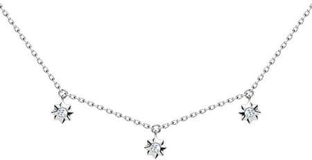 Preciosa Ładny Srebrny naszyjnik Orion 5250 00 srebro 925/1000