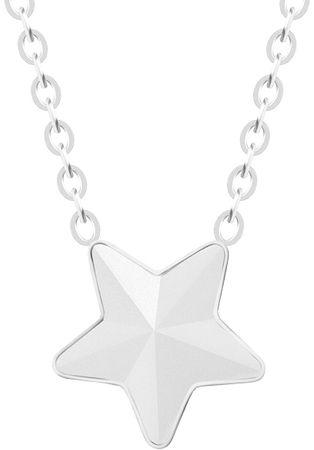 Preciosa Ogrlica iz jekla z matirano zvezdo Devica 7342 10
