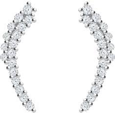 Preciosa Krásné stříbrné náušnice Pavo 5266 00 stříbro 925/1000