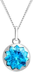 Preciosa Dámsky strieborný náhrdelník Vela 5252 67 (retiazka, prívesok) striebro 925/1000