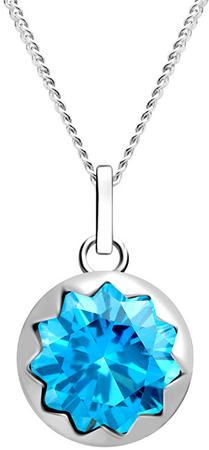 Preciosa Srebrna ogrlica za ženske Vela 5252 67 (veriga, obesek) srebro 925/1000