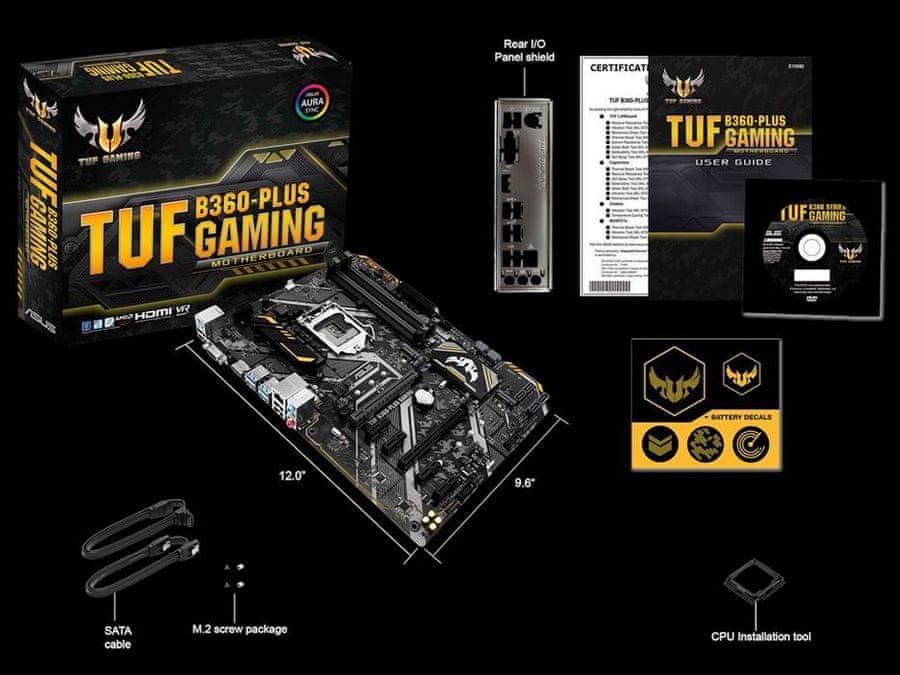 Osnovna plošča TUF B360-Plus Gaming