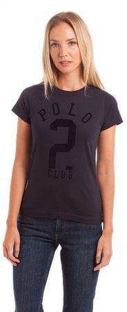 Polo Club C.H.A ženska majica s kratkimi rokavi, temno modra, L