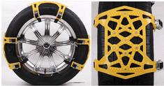 Tark univerzalni metalni - PVC snježni lanci protiv klizanja TT006, 6 komada