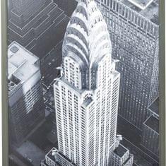 KARE Čiernobiely obraz New York Chrysler Building