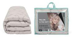 My Best Home Prešívaná celoročná prikrývka FALUN ULTRA SOFT 3D strieborná 200 x 220 cm