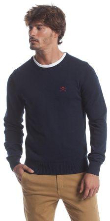Polo Club C.H.A muški pulover, L, tamno plavi