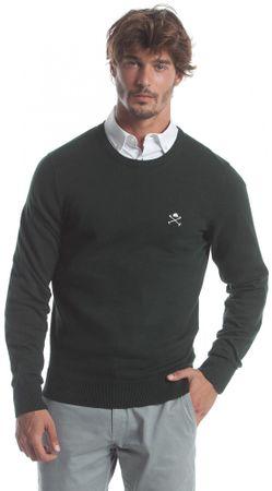Polo Club C.H.A férfi pulóver XXL sötétzöld