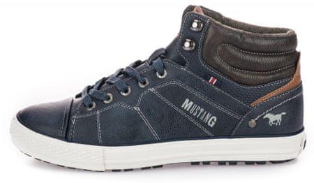 3c72711f56098 Mustang pánské kotníčkové tenisky 41 tmavo modrá | MALL.SK
