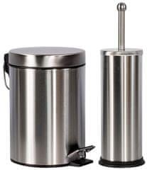 TimeLife Odpadkový kôš 3l & WC kefa