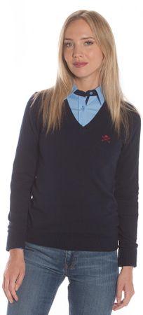 Polo Club C.H.A ženski pulover, S, tamno plavi